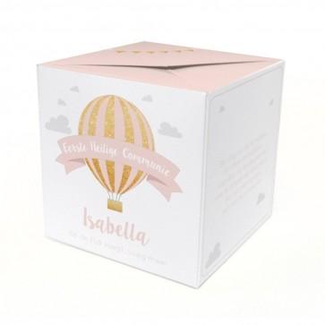 Communiekaart Out of the Box Pink Balloon