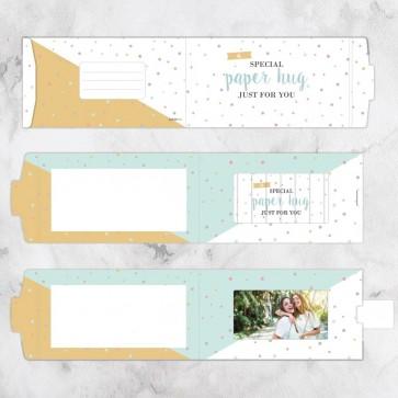 ChangeCard Wenskaart - Special Paper Hug