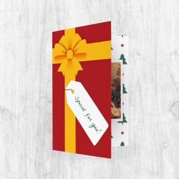 Muziekkaart Wenskaart - Christmas Gift