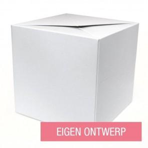 Ontwerp Zelf - Out of the Box geboortekaartje