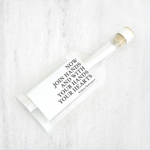 Love Quote Flessenpost Trouwkaart