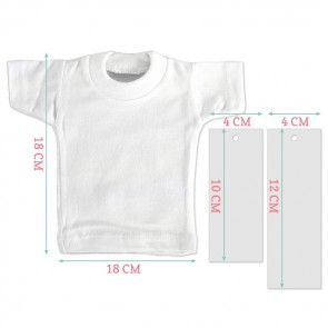 Peach Dots Mini T-Shirt