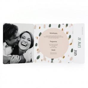 Blushed - Drieluik Omslagkaart
