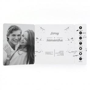 Classic Wedding - Drieluik Omslagkaart