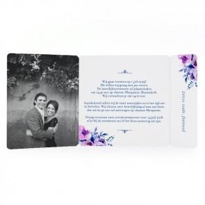 Cosy Purple - Drieluik Omslagkaart