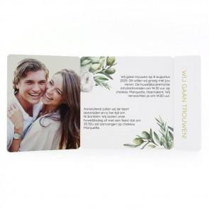 Olive - Drieluik Omslagkaart
