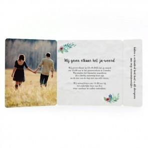 Rustic Garden - Drieluik Omslagkaart