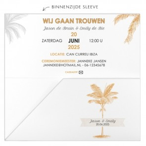 Palm Trees Vliegticket