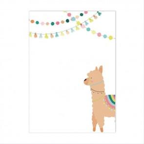 Birthday Lama Flessenpost