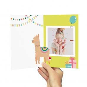 Birthday Lama Muziekkaart