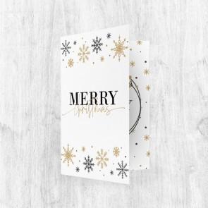 Muziekkaart Wenskaart - Christmas Sparkle