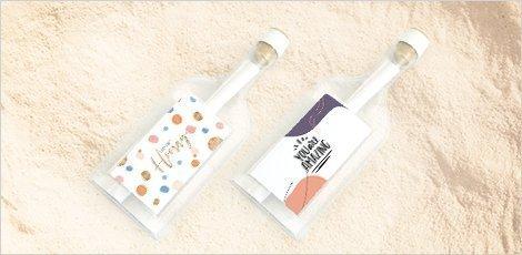 flessenpost-wenskaarten