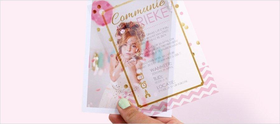 communiekaart-gold-confetti-vellum