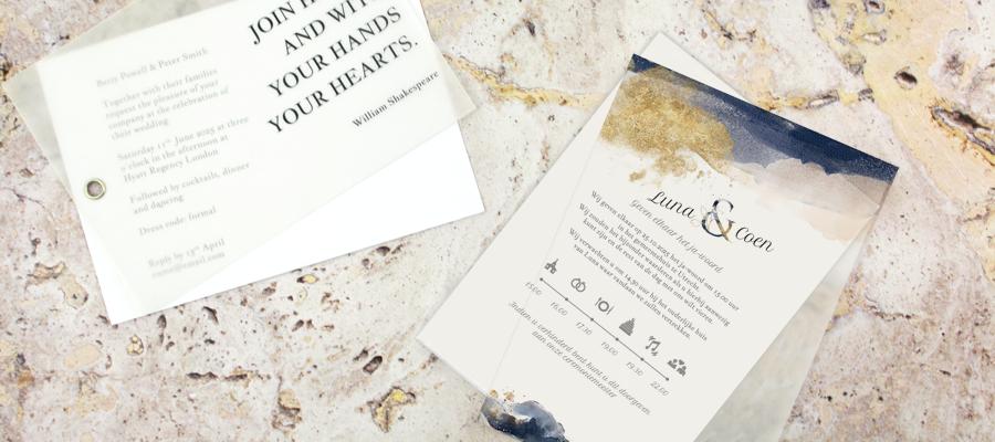 trouwkaart-gold-watercolour-vellum-kaart