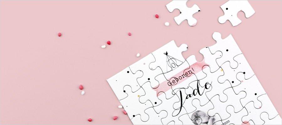 geboortekaartje-goedkoop-puzzel