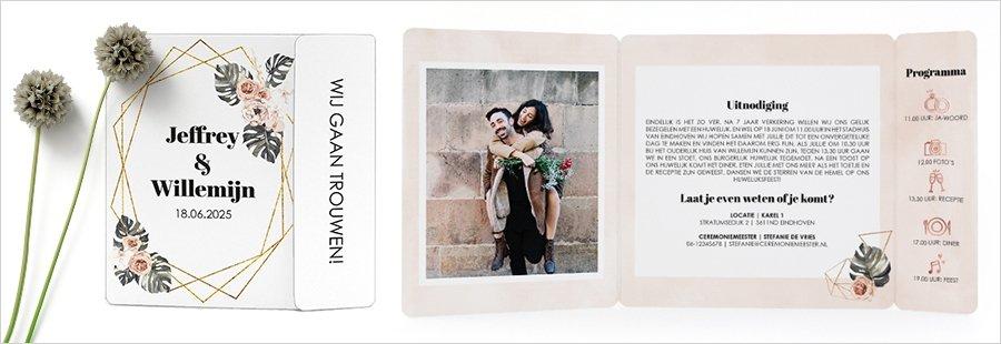 goedkope-trouwkaart-inspiratie-drieluik-omslagkaart