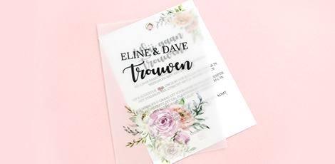 kalkpapier-trouwkaart-floral-chic