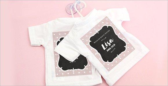 Mini-tshirtje-bijzonder-geboortekaartje