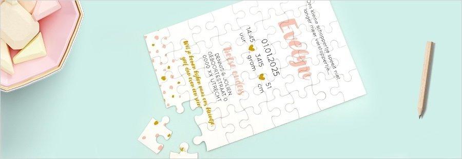 puzzel-als-trendy-geboortekaartje