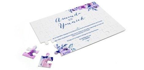 trendy-trouwkaart-puzzel