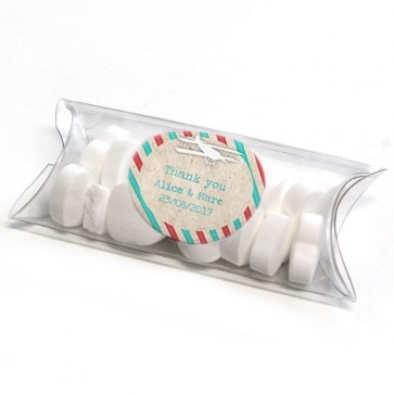 Airmail Mini Pillow Box wedding favour