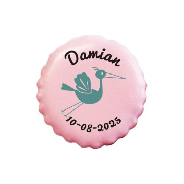 Stork personalised Cookies