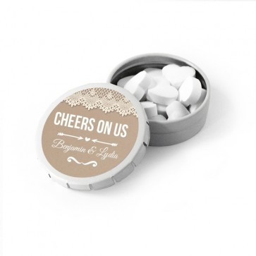 Click clack tin favour create your own