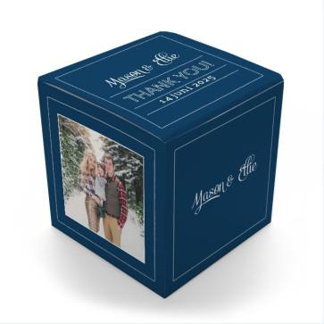 Favour Boxes Blue Label