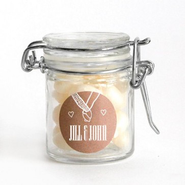 Hold My Hand Weck Jar weding favours
