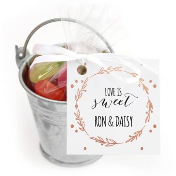 Mini Candy Pail Wedding Favour Balloon