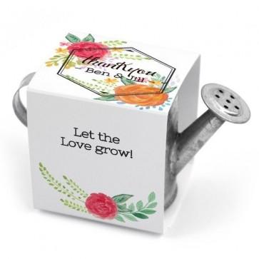 Bouquet Mini Metal Green Watering Can