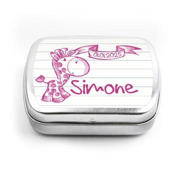 Doodle baby shower Mint Tins