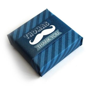 Baby Shower soap favour Moustache