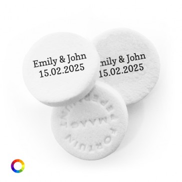 Rings Personalised Wedding Mints
