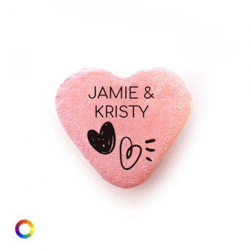 Hearts Personalised Candy Hearts