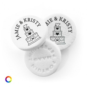 Cake personalised Wedding Mints