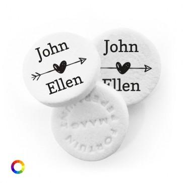 Little Heart personalised Wedding Mints