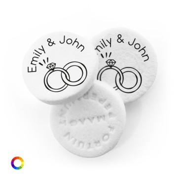 Rings Personalised Wedding Mints