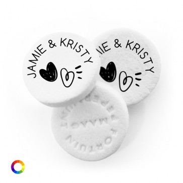Hearts personalised Wedding Mints