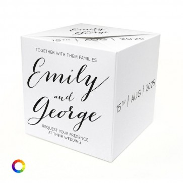 Picture Perfect Out of the Box Wedding Invitation