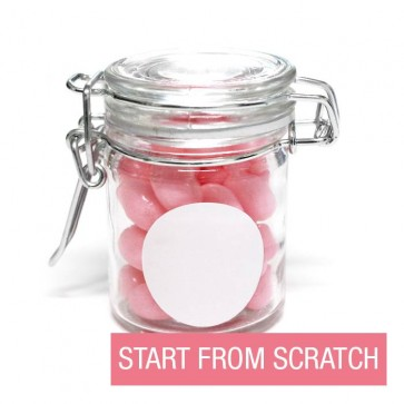 create your own weck jar baby shower favour
