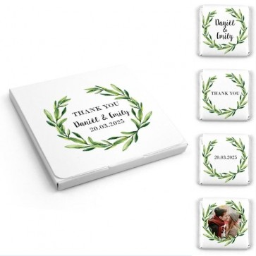 Create Your Own Wedding Chocolates Favour Box
