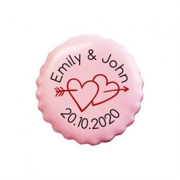 Arrow Hearts personalised Cookies