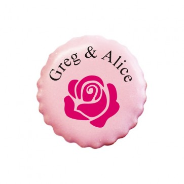 Rose personalised Cookies