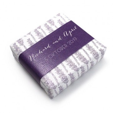 Wedding Favour Soap Lavender Classic