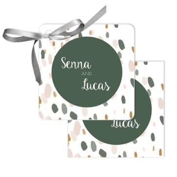 Blushed Design Wedding Tags