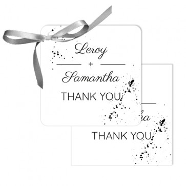 Classic Wedding Design Wedding Tags