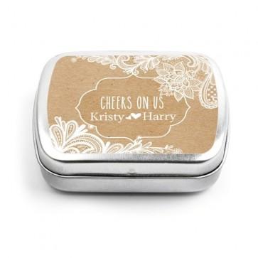 Vintage Lace Wedding Mint Tins
