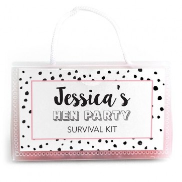 Dots designed wedding purses
