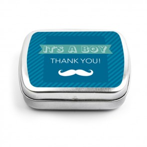 Moustache Mint Tins